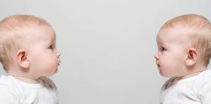 bébés miroir