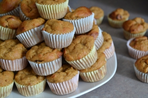 mini-muffins à l'orange