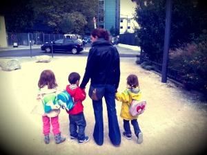 maman de triplés